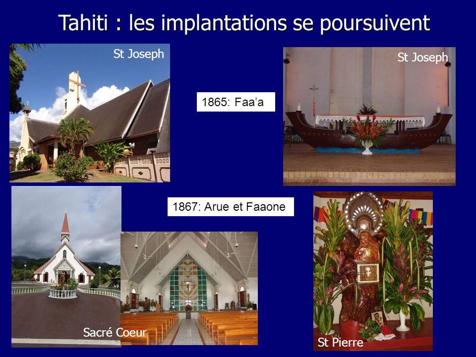 Tahiti : les implantations se poursuivent