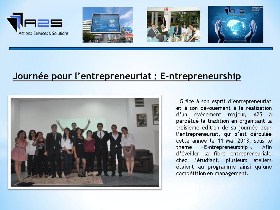 Journée pour l'entrepreneuriat : E-ntrepreneurship