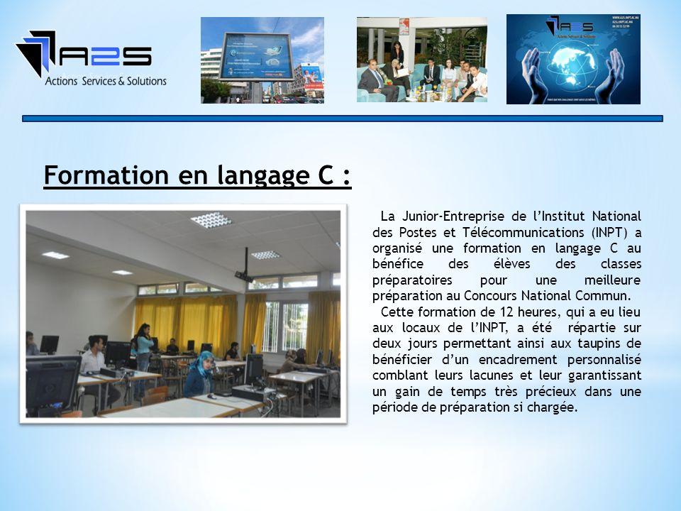 Formation en langage C :