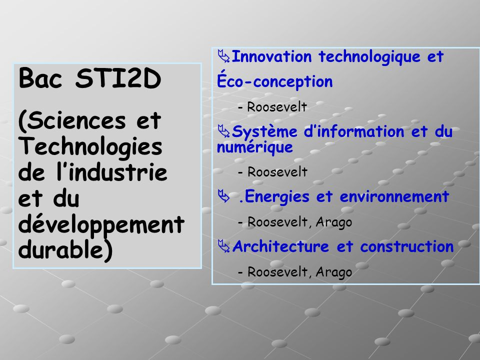.Innovation technologique et