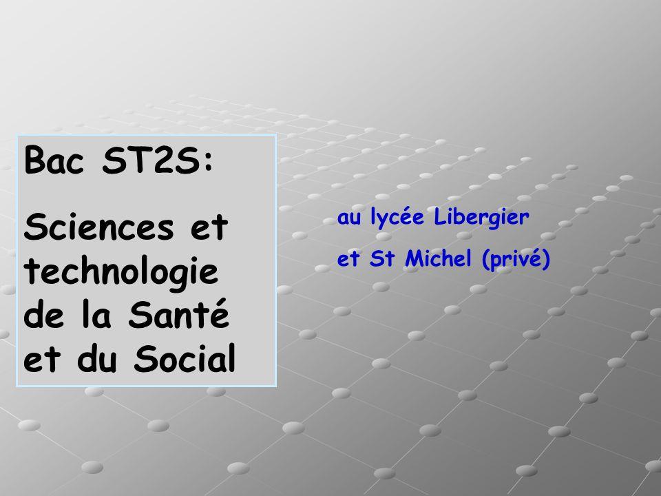 Sciences et technologie de la Santé et du Social