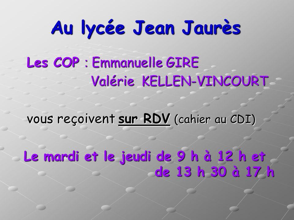 Au lycée Jean Jaurès