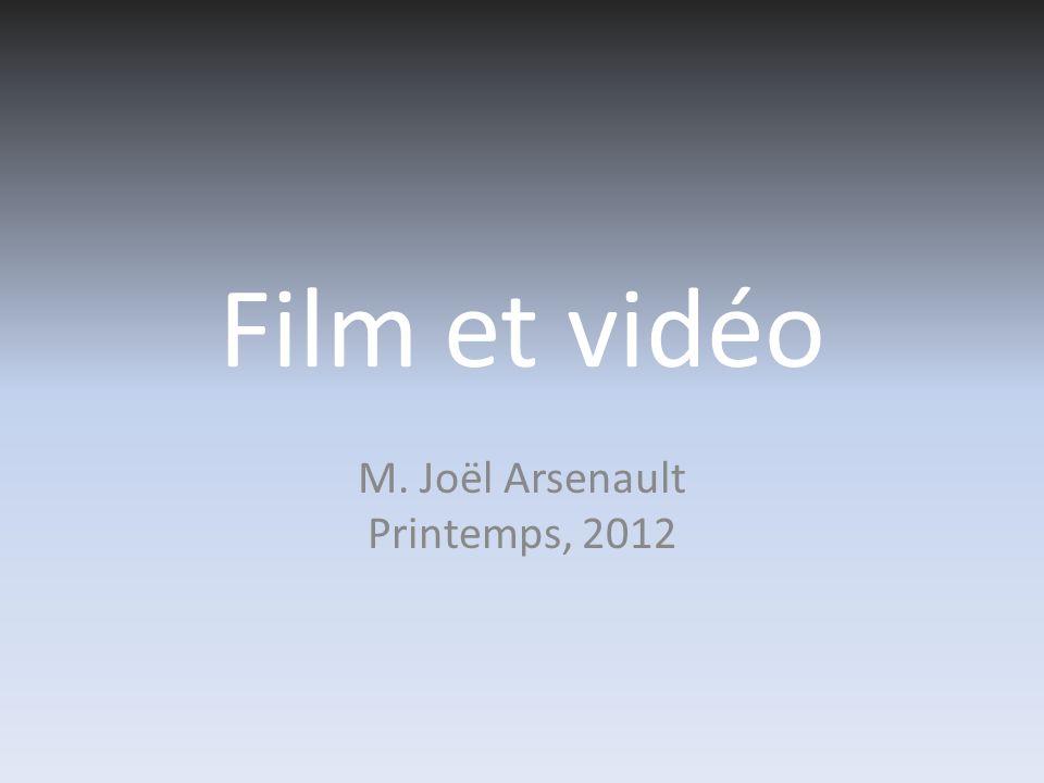 M. Joël Arsenault Printemps, 2012