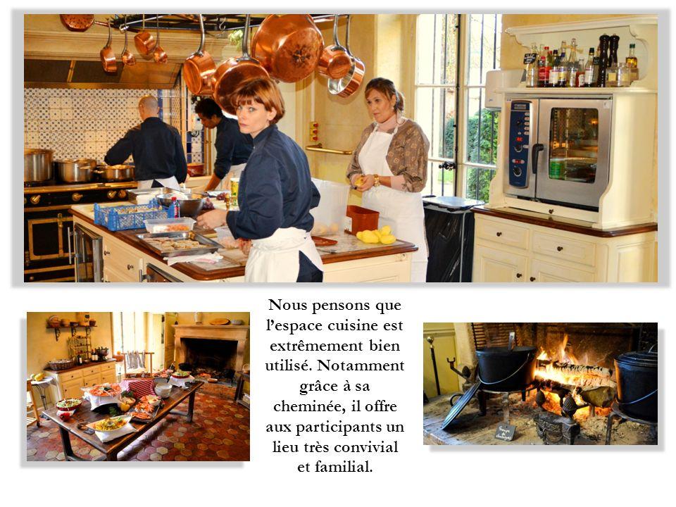 Nous pensons que l'espace cuisine est extrêmement bien utilisé
