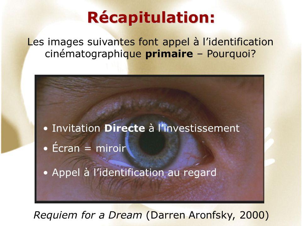 Récapitulation: Les images suivantes font appel à l'identification