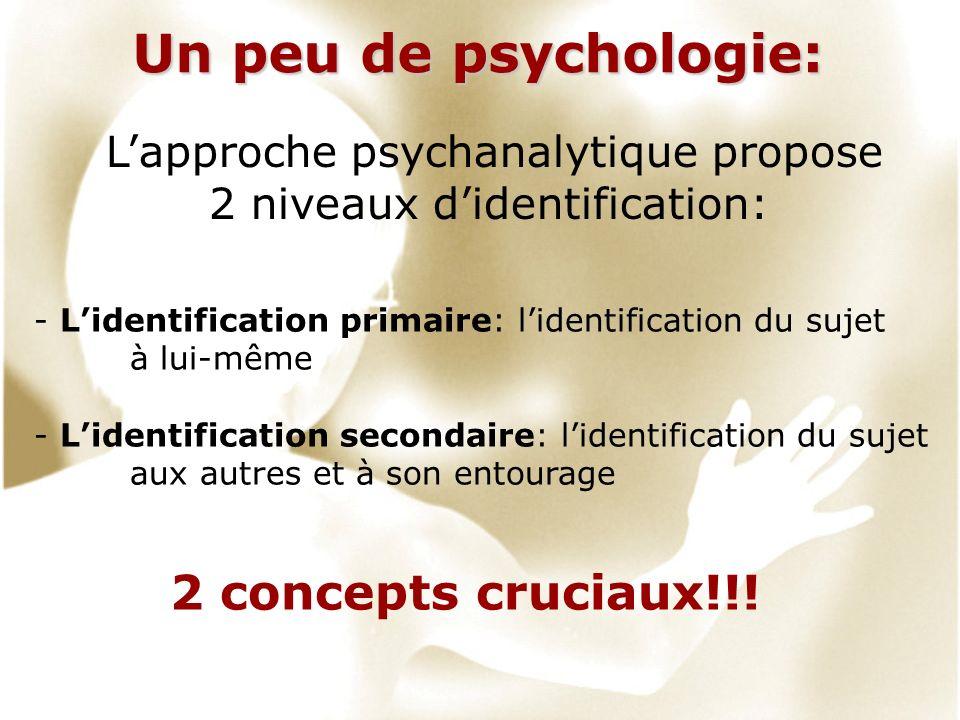 Un peu de psychologie: 2 concepts cruciaux!!!