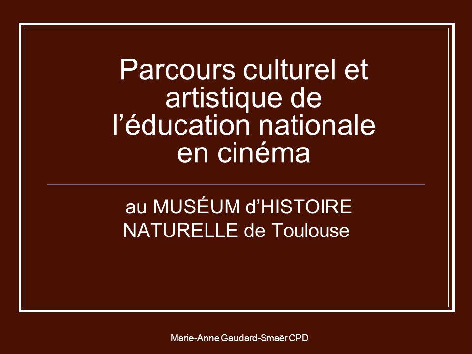 Parcours culturel et artistique de l'éducation nationale en cinéma