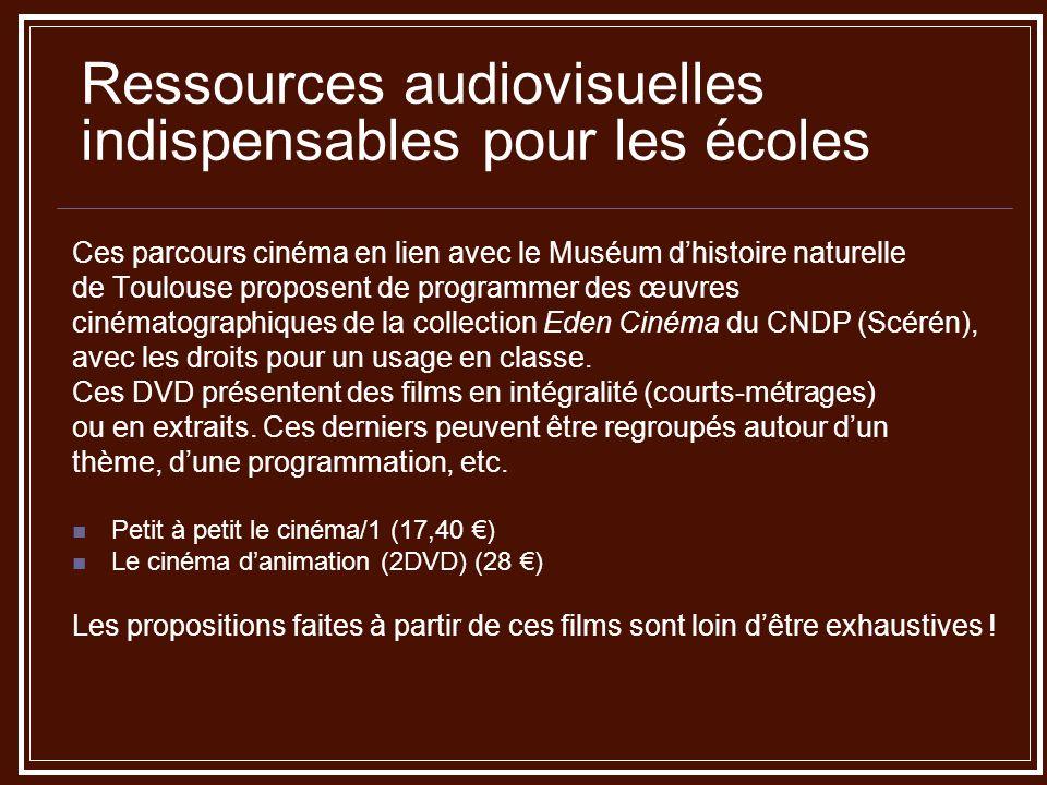 Ressources audiovisuelles indispensables pour les écoles