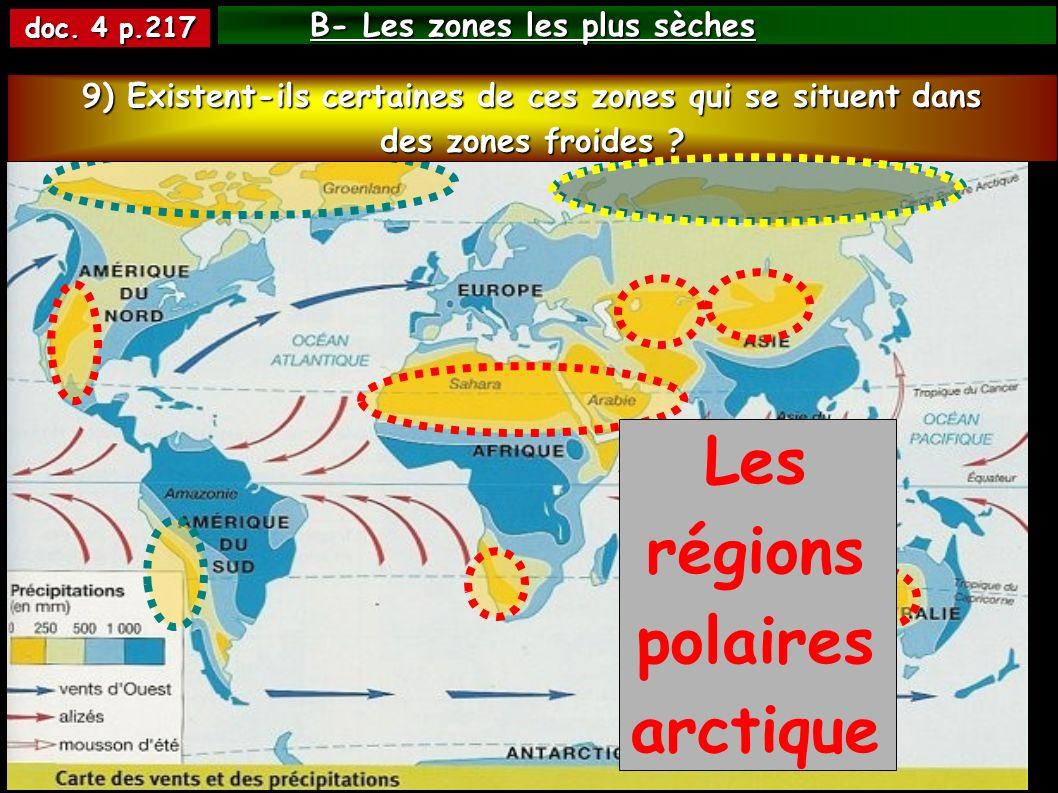Les régions polaires arctiques