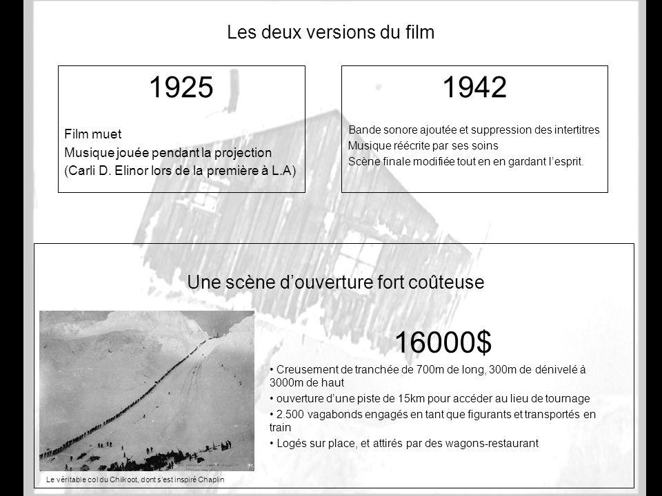 Les deux versions du film
