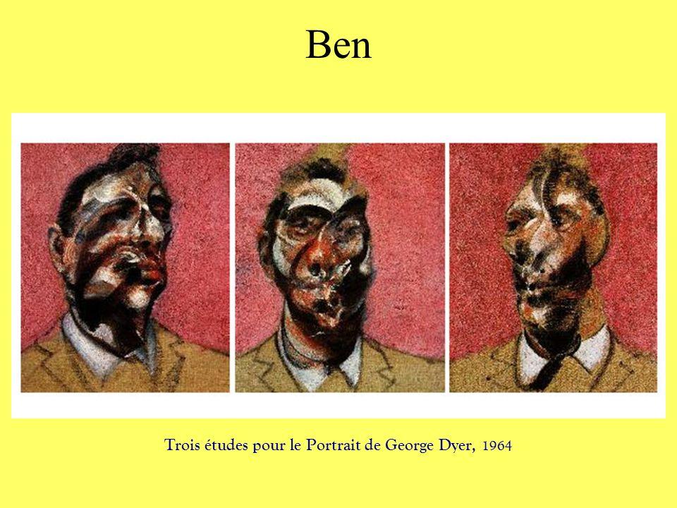 Trois études pour le Portrait de George Dyer, 1964