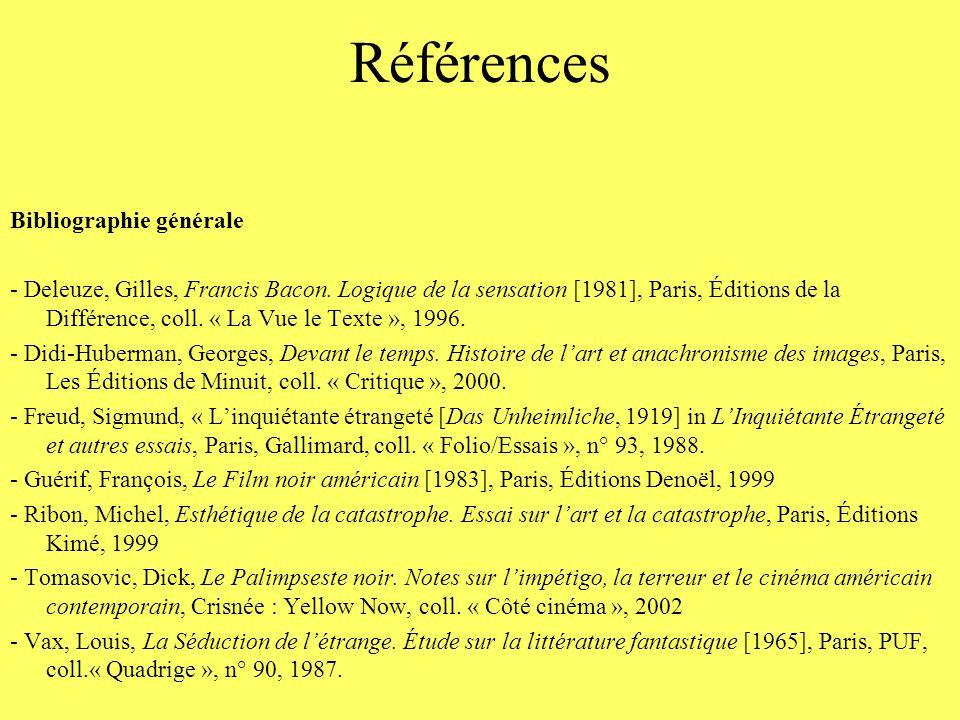Références Bibliographie générale