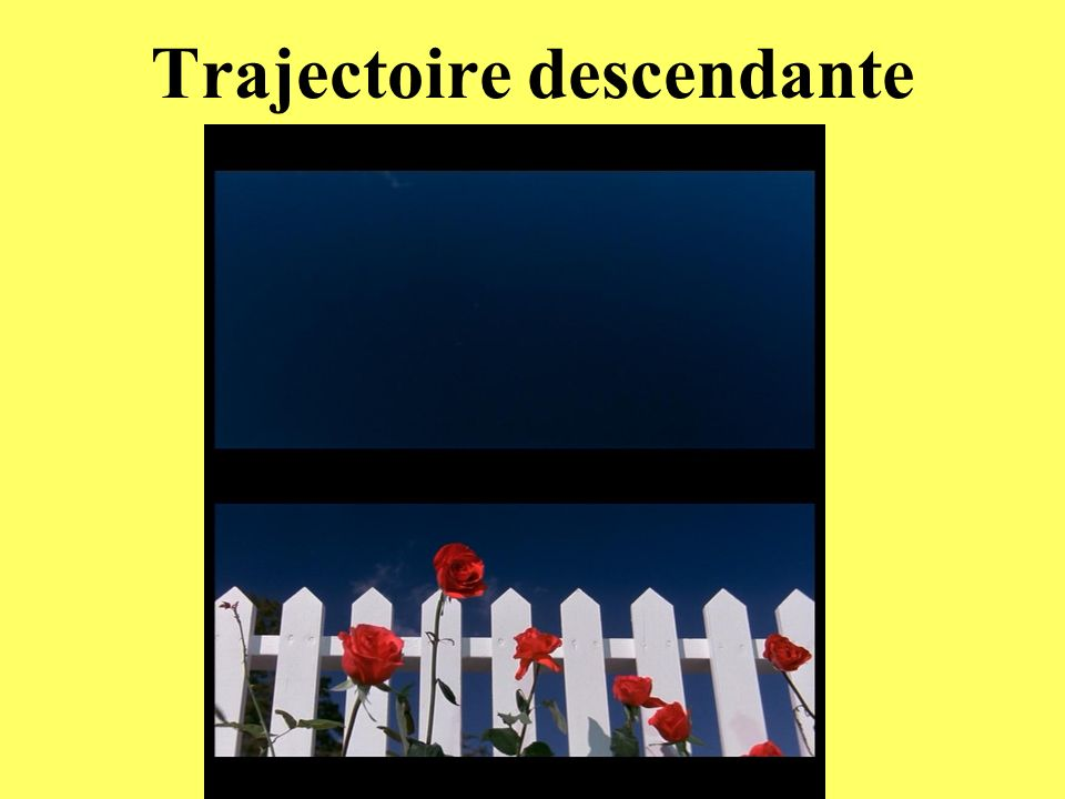 Trajectoire descendante