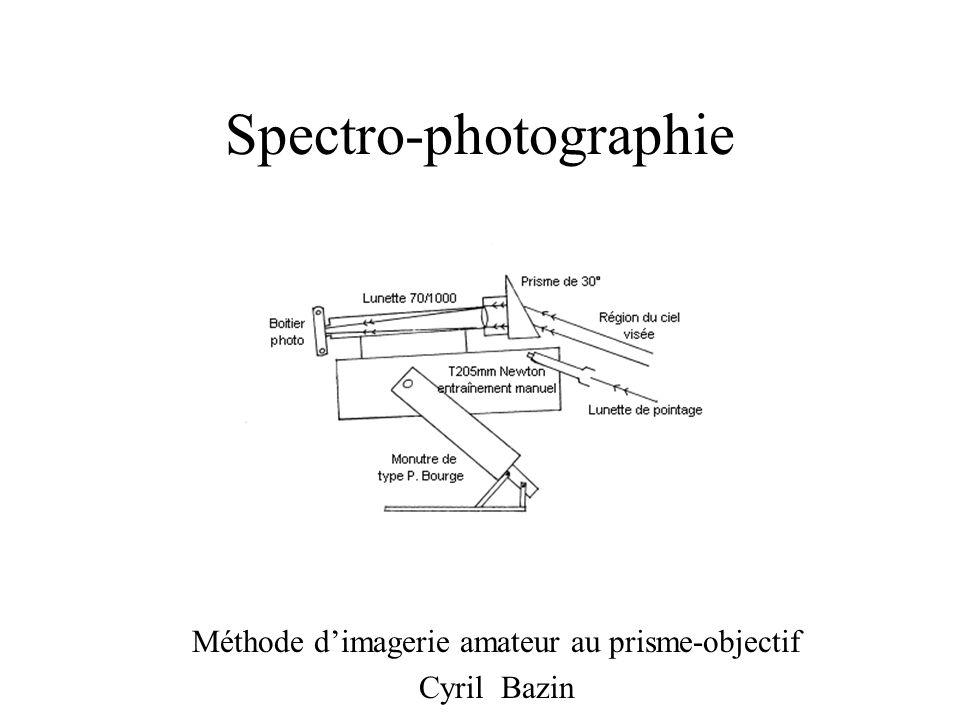 Spectro-photographie