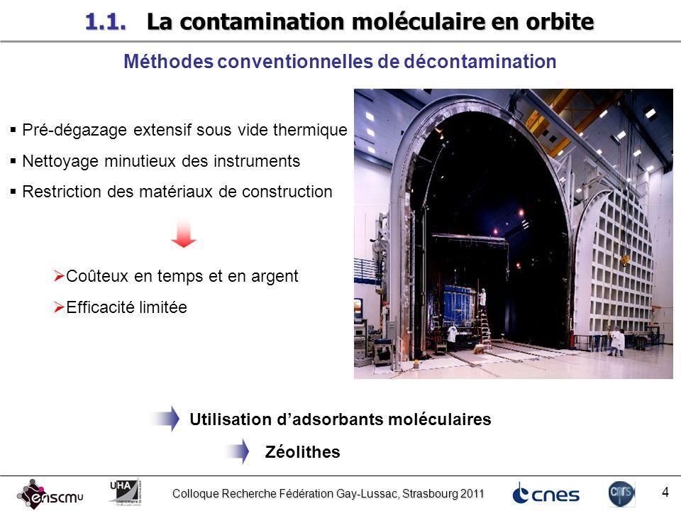 1.1. La contamination moléculaire en orbite