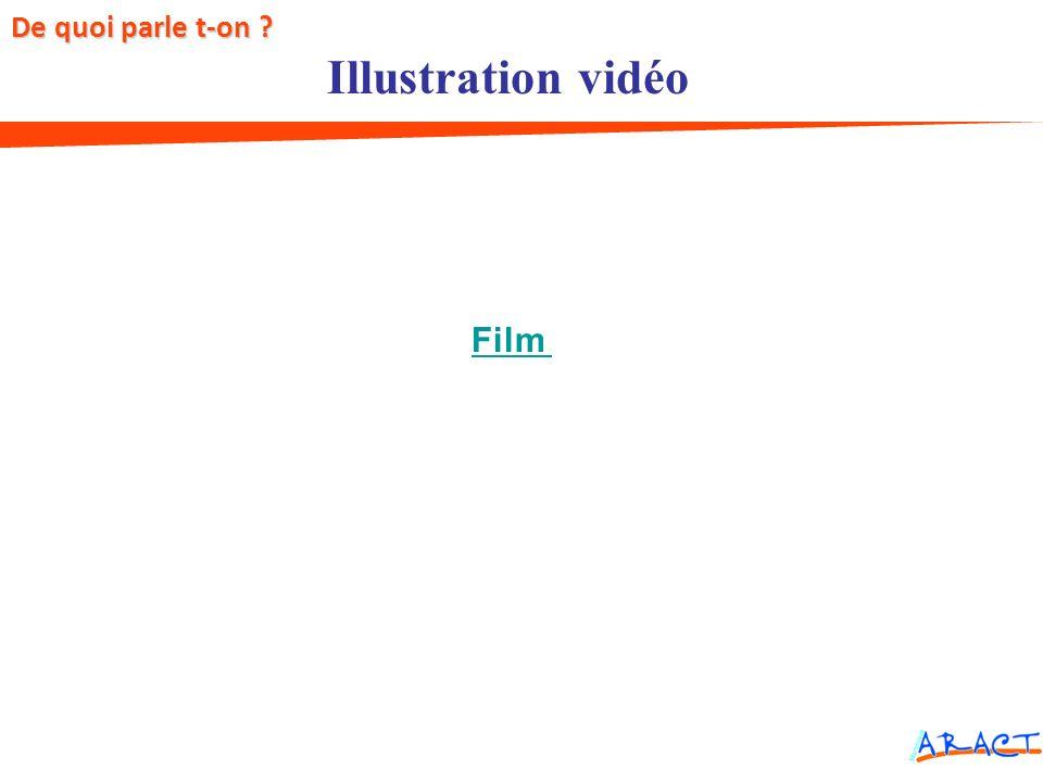 De quoi parle t-on Illustration vidéo Facteurs de risques Film