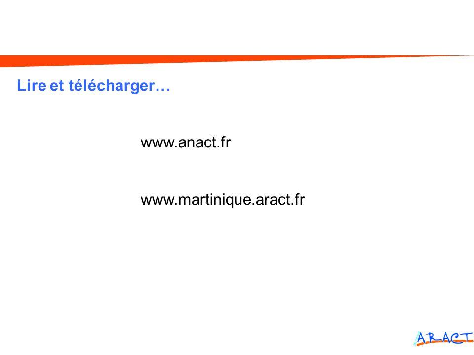 Lire et télécharger… www.anact.fr www.martinique.aract.fr Cognitif