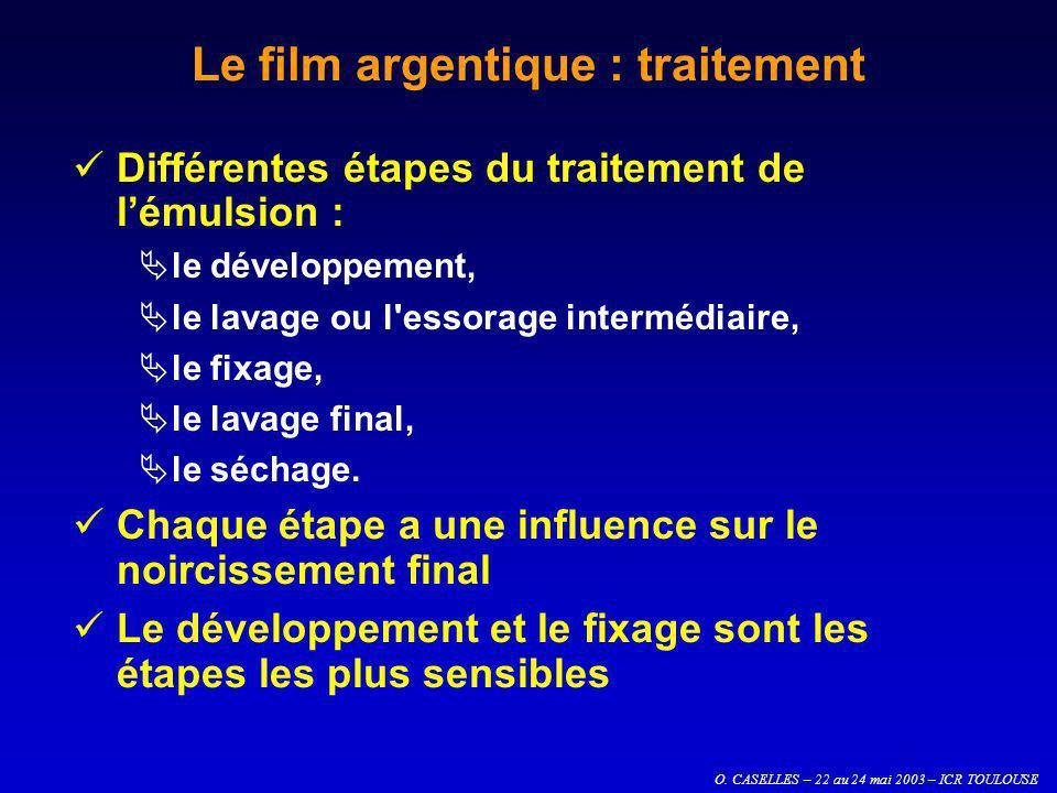Le film argentique : traitement