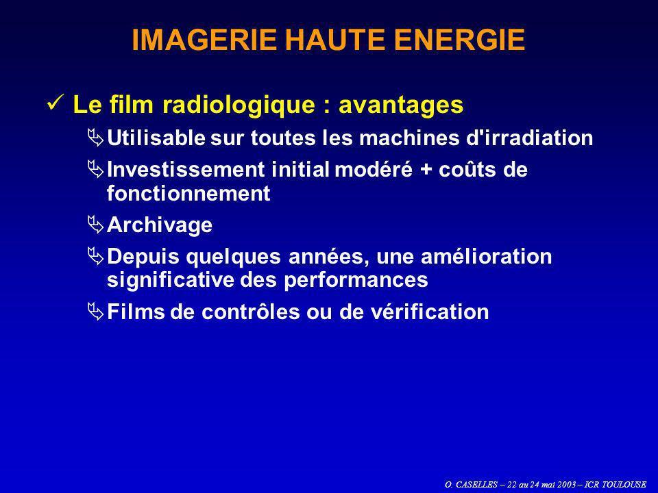 IMAGERIE HAUTE ENERGIE