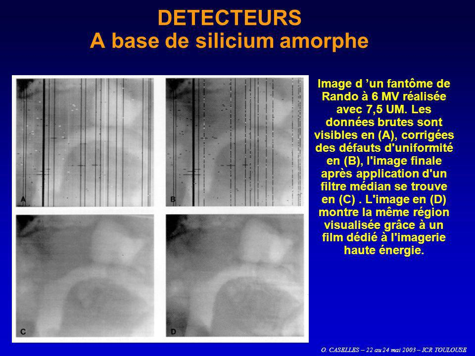DETECTEURS A base de silicium amorphe
