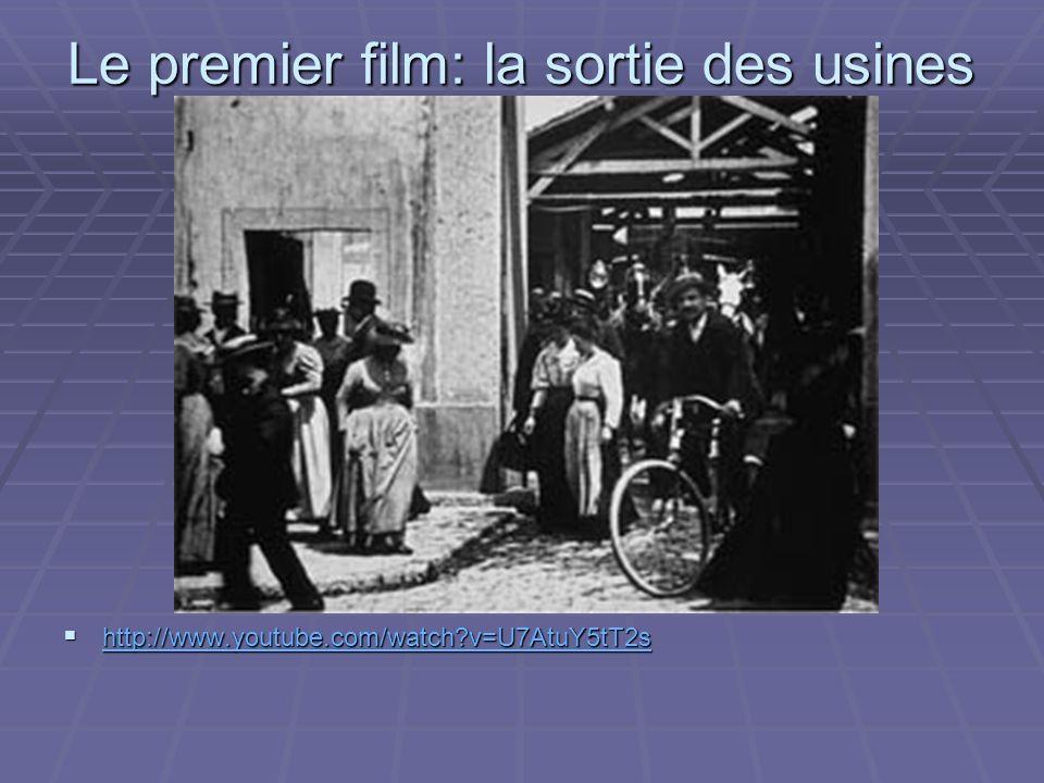 Le premier film: la sortie des usines Lumière, 19 mars 1895