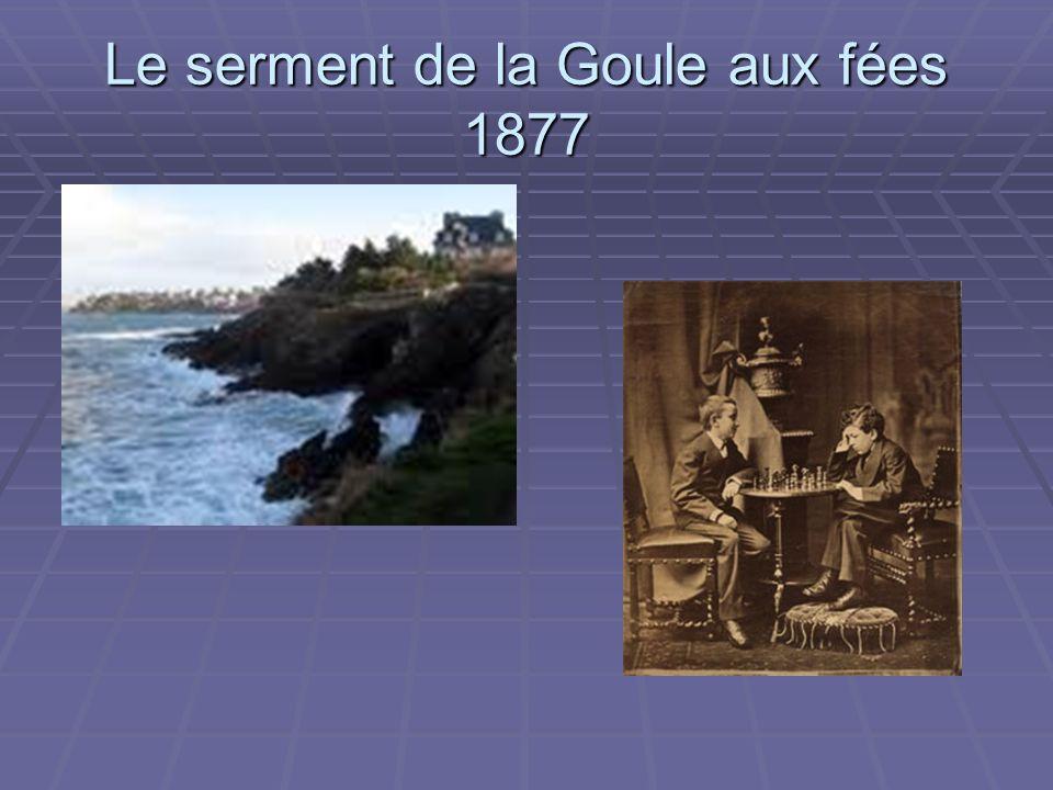 Le serment de la Goule aux fées 1877