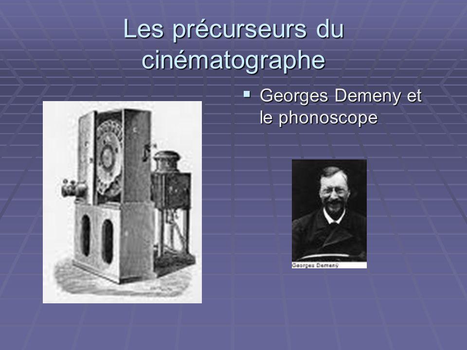Les précurseurs du cinématographe