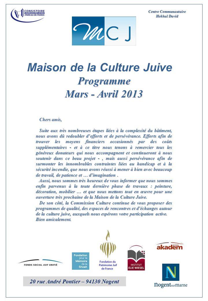 Maison de la Culture Juive