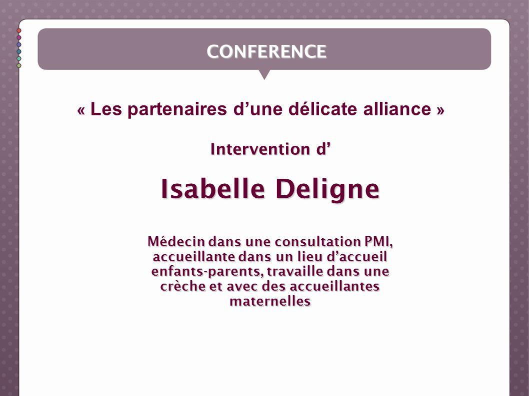 Isabelle Deligne CONFERENCE