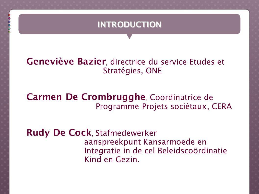 Geneviève Bazier, directrice du service Etudes et Stratégies, ONE