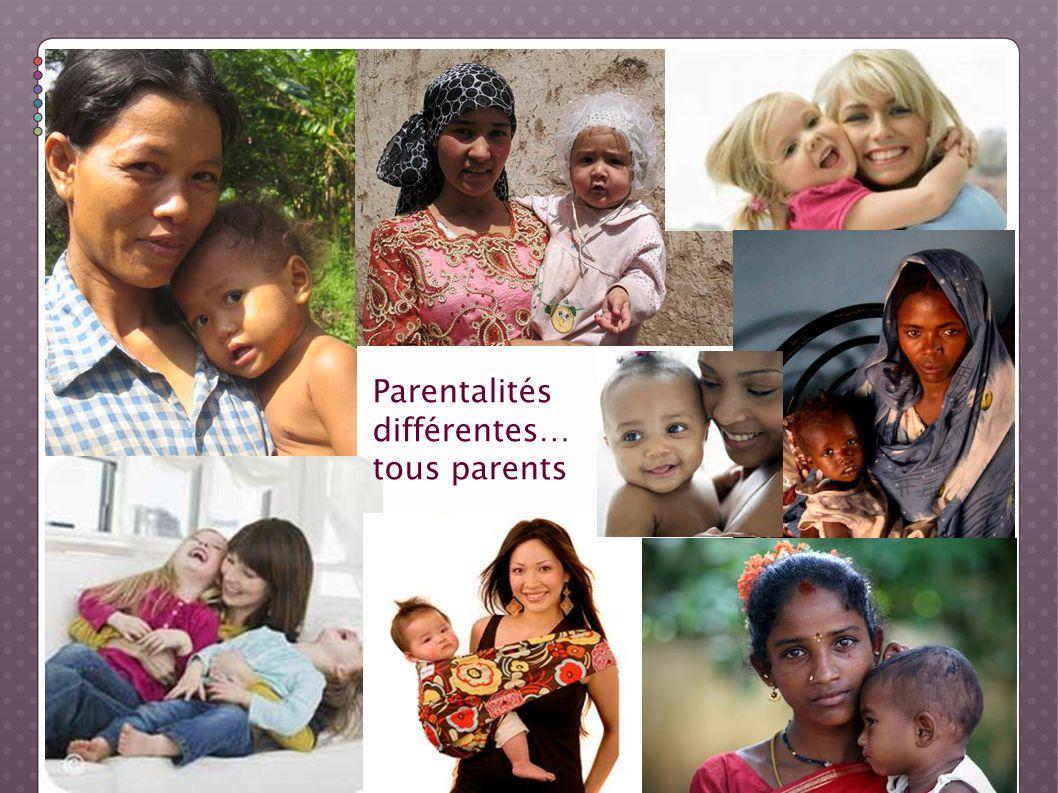 Parentalités différentes… tous parents