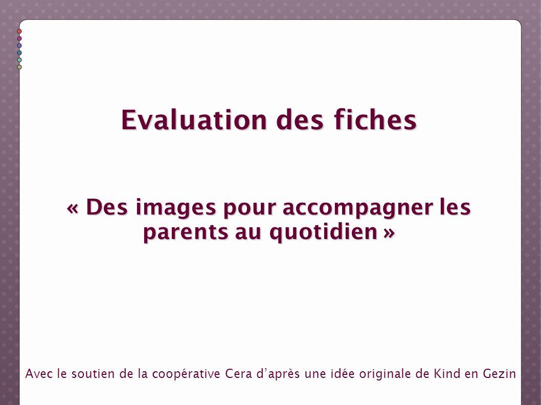« Des images pour accompagner les parents au quotidien »