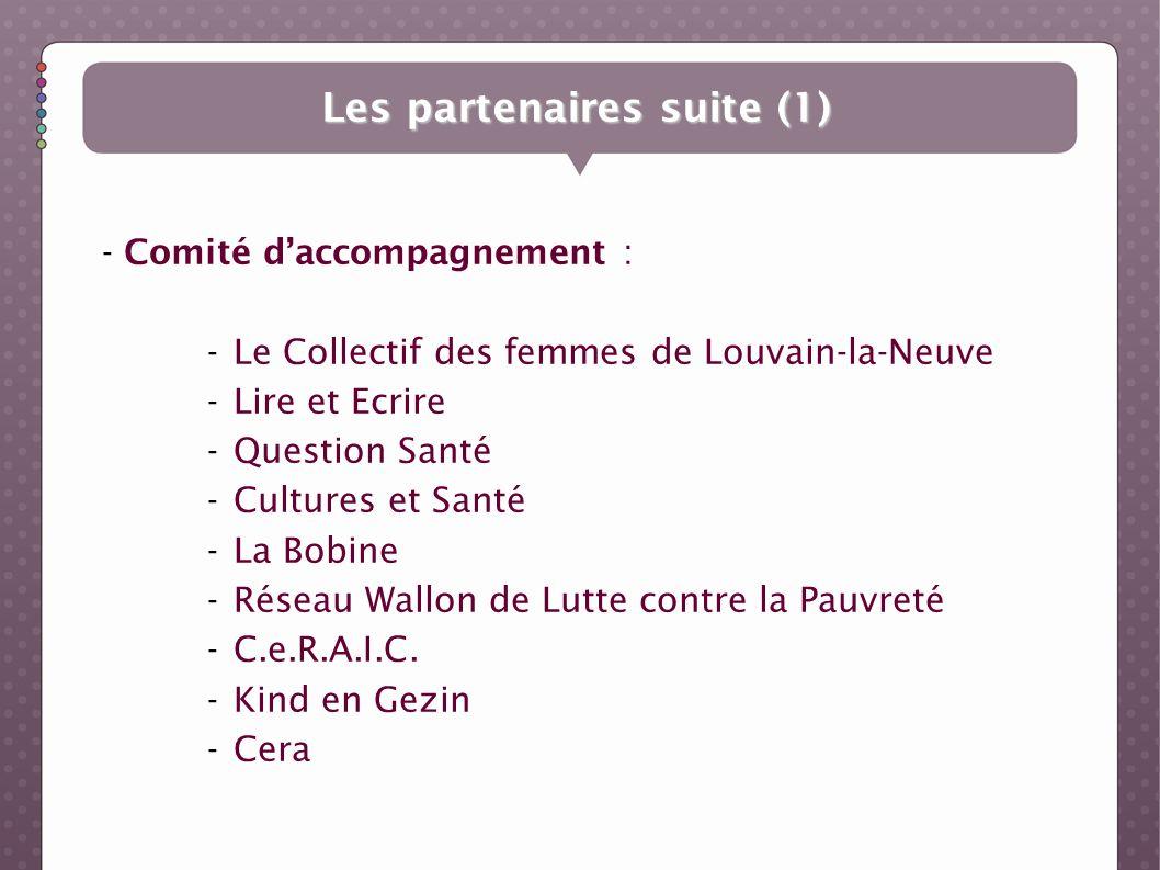 Les partenaires suite (1)