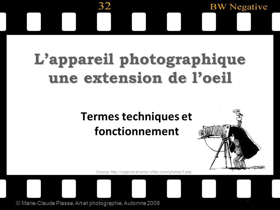 L'appareil photographique une extension de l'oeil