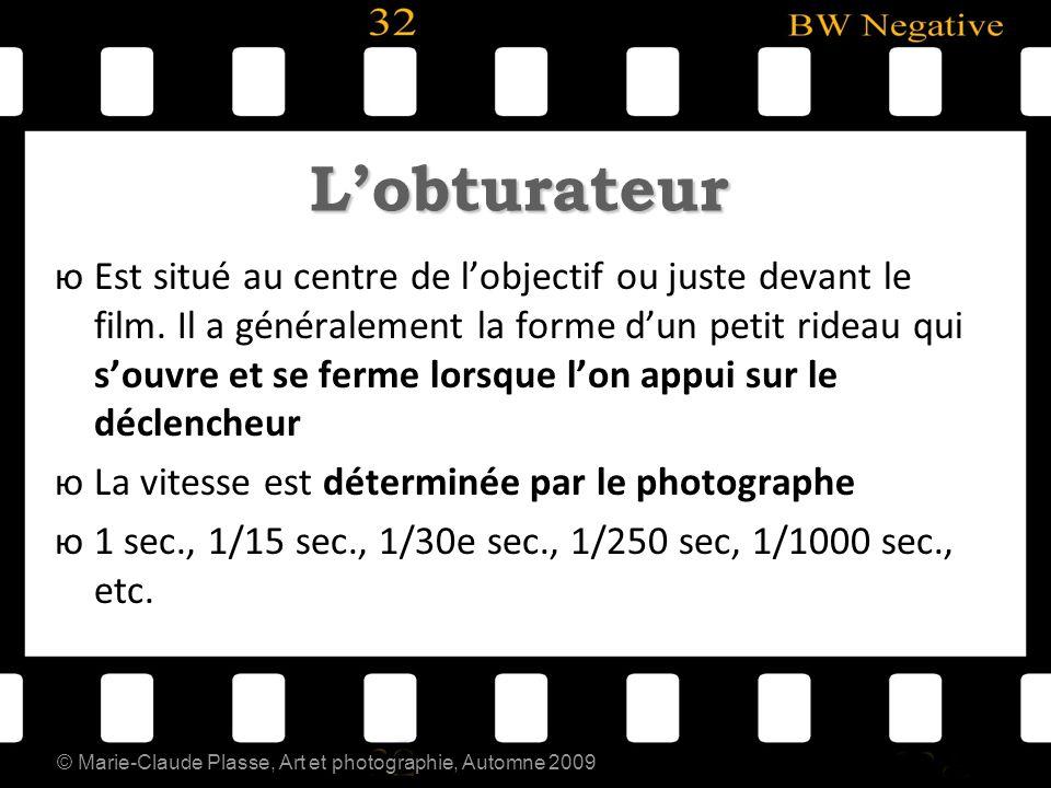 © Marie-Claude Plasse, Art et photographie, Automne 2009