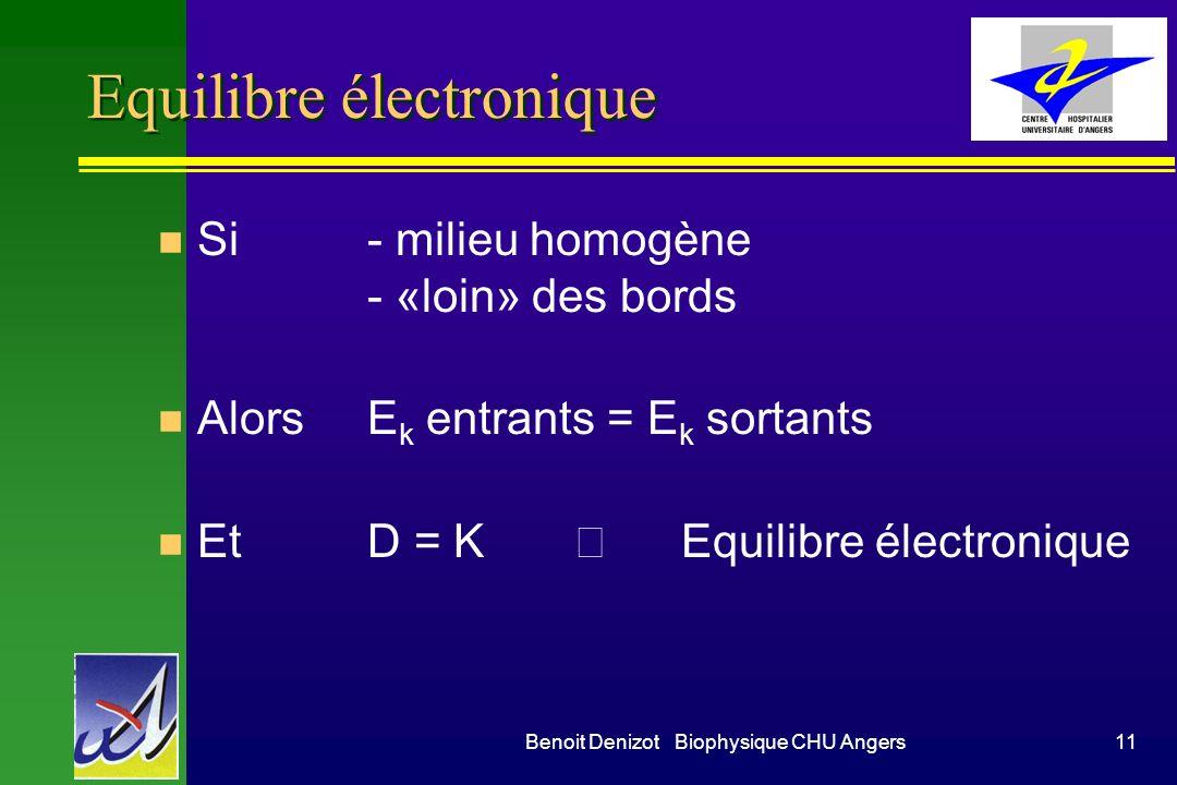 Equilibre électronique