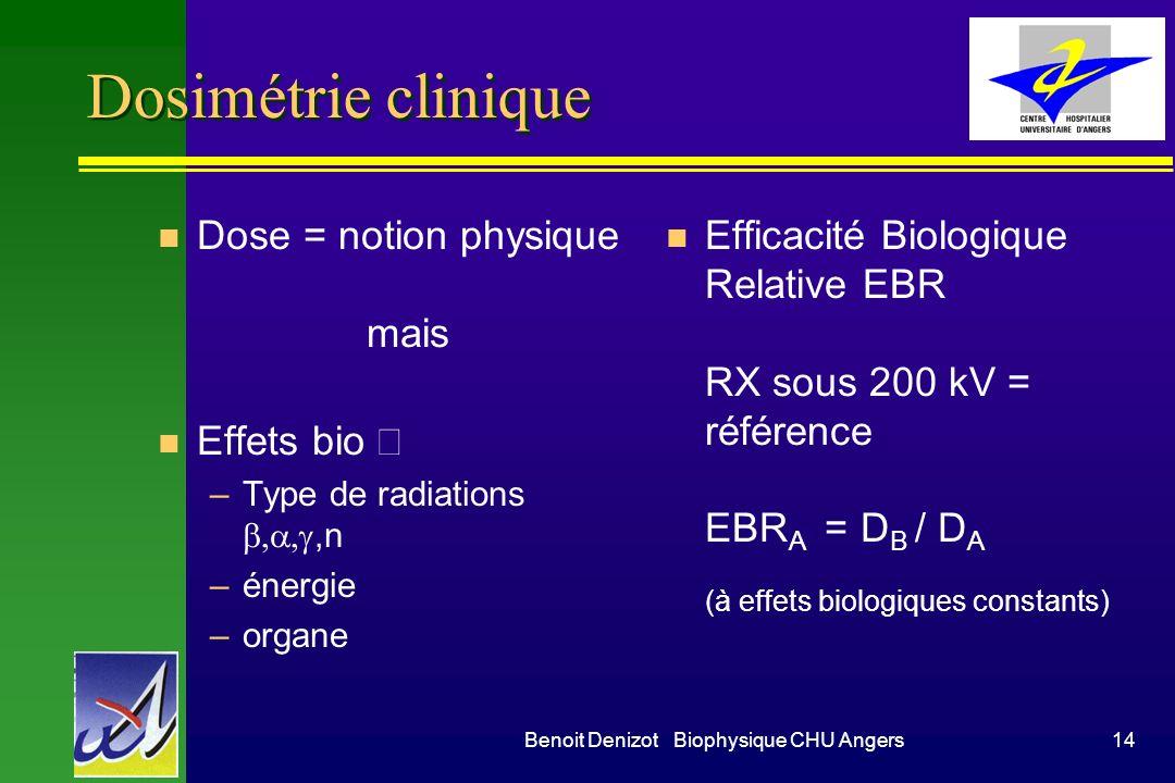 Benoit Denizot Biophysique CHU Angers