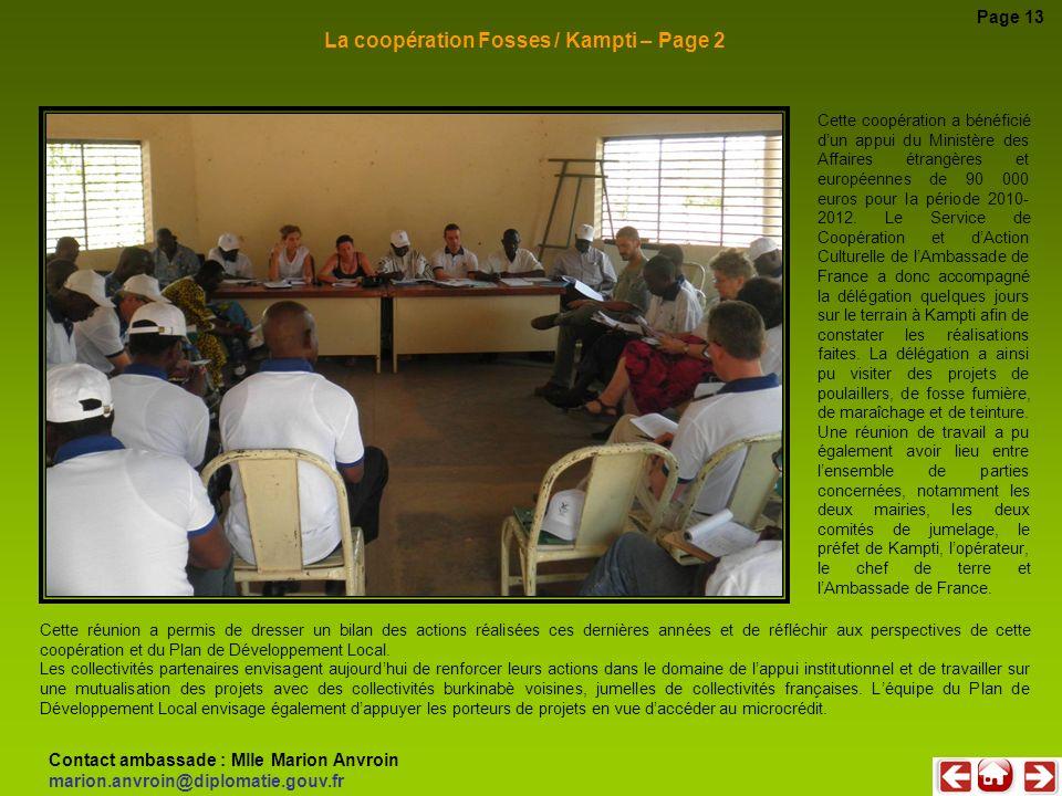 La coopération Fosses / Kampti – Page 2