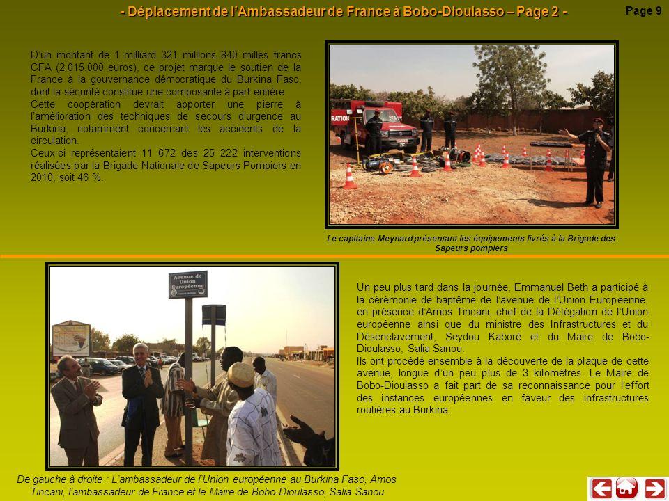 - Déplacement de l'Ambassadeur de France à Bobo-Dioulasso – Page 2 -