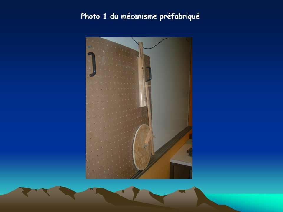 Photo 1 du mécanisme préfabriqué