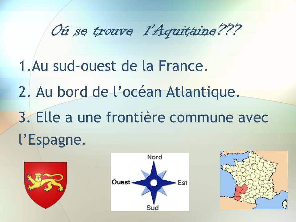 Oú se trouve l'Aquitaine