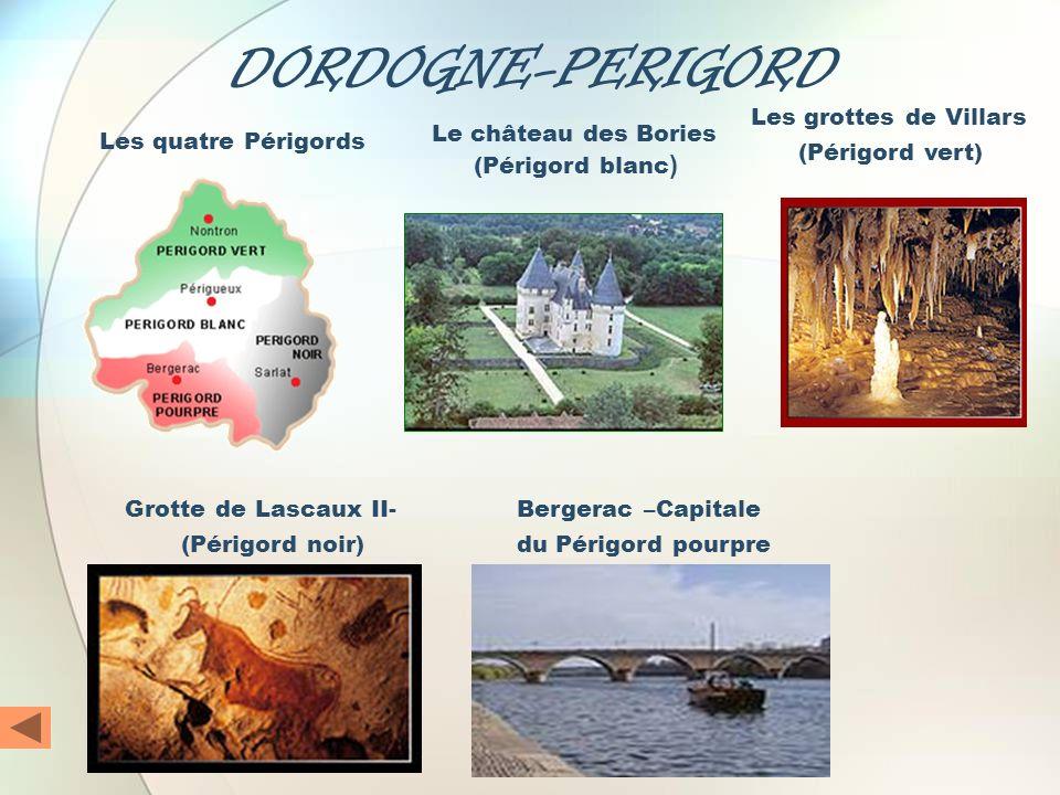 DORDOGNE-PERIGORD Les grottes de Villars (Périgord vert)
