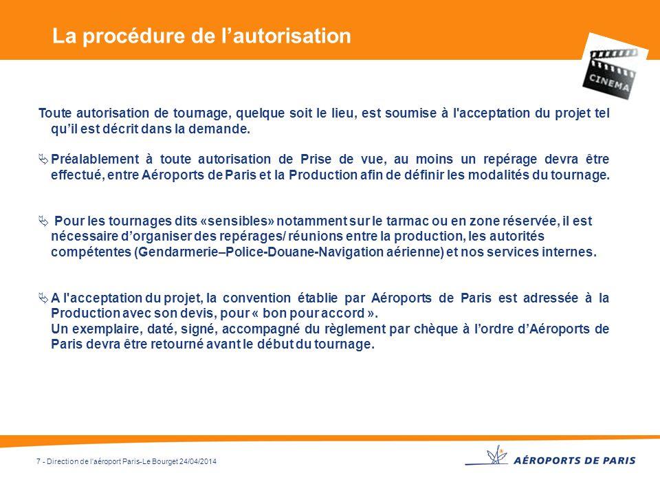 La procédure de l'autorisation