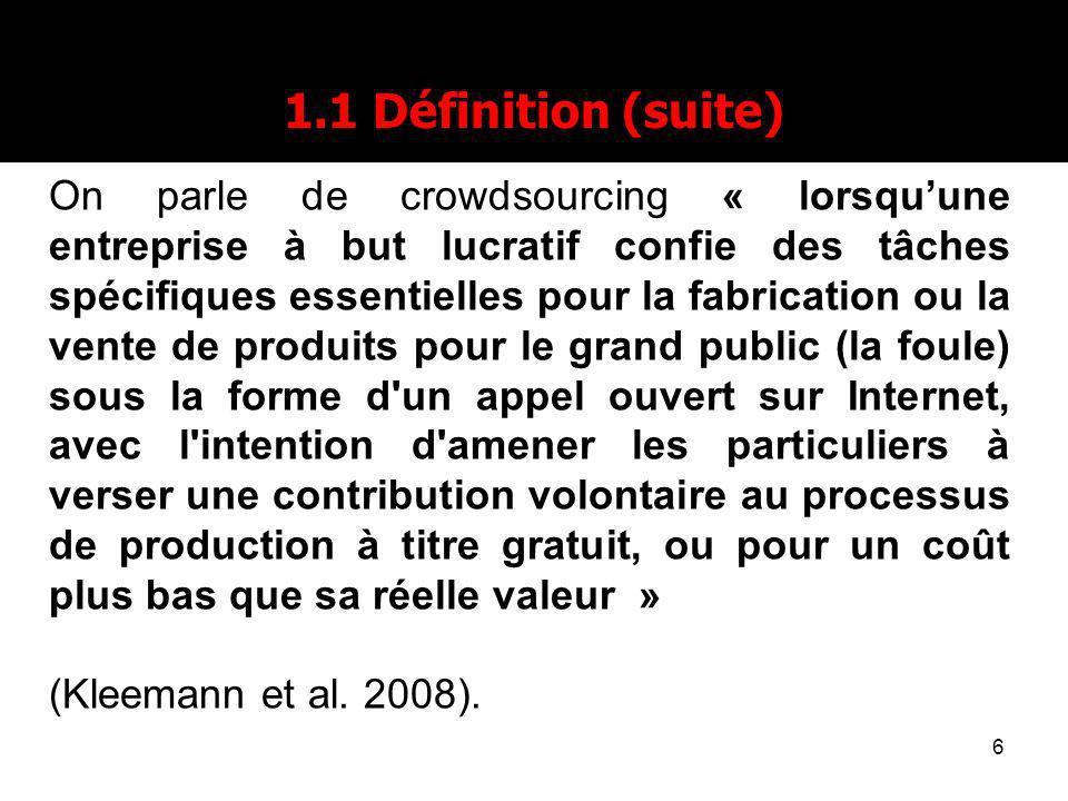 1.1 Définition (suite)