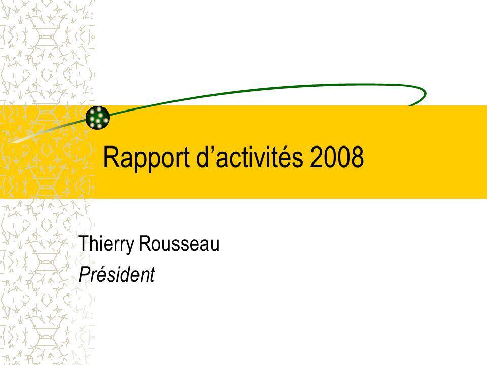 Thierry Rousseau Président
