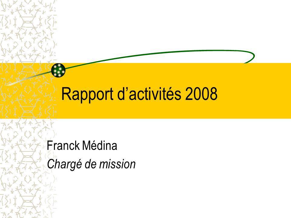 Franck Médina Chargé de mission