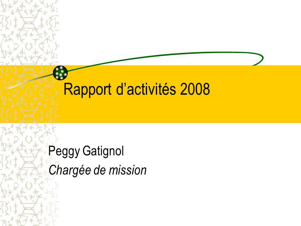 Peggy Gatignol Chargée de mission