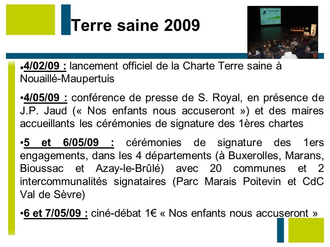 Terre saine 2009 4/02/09 : lancement officiel de la Charte Terre saine à Nouaillé-Maupertuis.