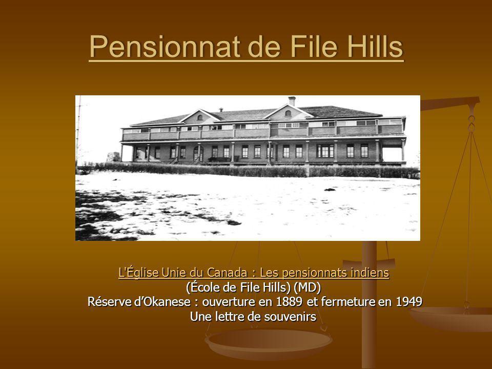 Pensionnat de File Hills