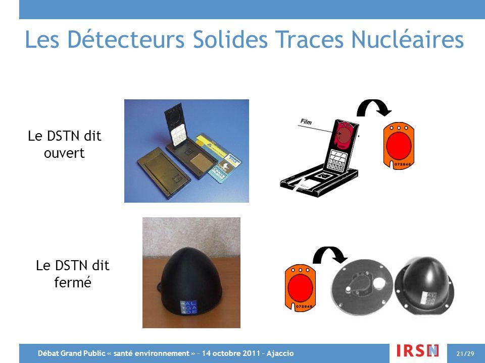 Les Détecteurs Solides Traces Nucléaires